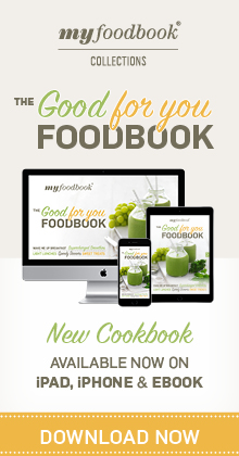 New Good For You cookbook with a great collection of fresh and easy recipes