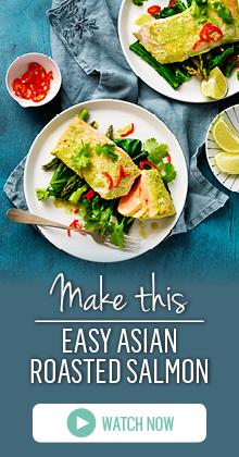 Make an easy Asian Salmon Marinade in the Breville Boss to Go Blender