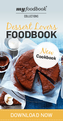 Download the Dessert Lovers Foodbook for the ultimate dessert recipes