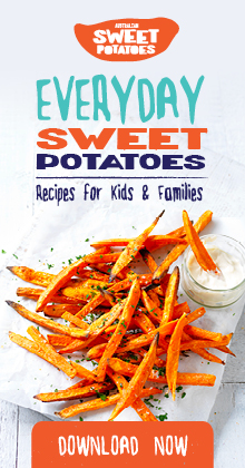 This cookbook is full of supercharged sweet potato recipes perfect for littles ones and adults.