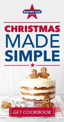 Christmas made simple cookbook