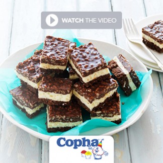 Watch how to make this delicious Copha Christmas treat