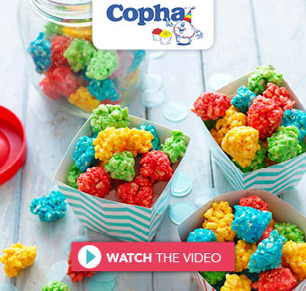 Cohpa Kids Party Chocolate Crackle Popcorn