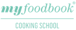 myfoodbook Cooking School Logo