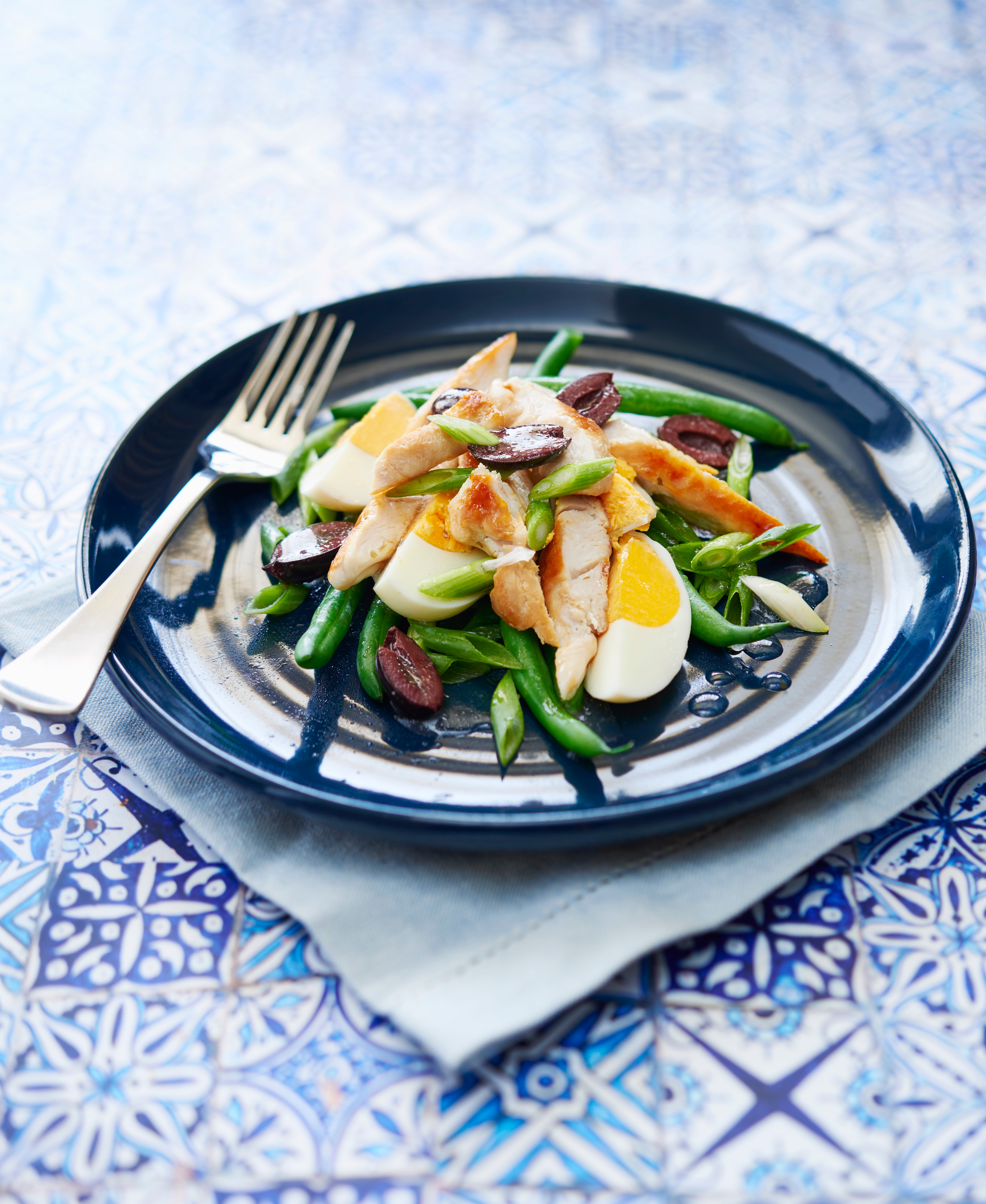 ZOOSH Light Lunch Chicken and Egg French Salad