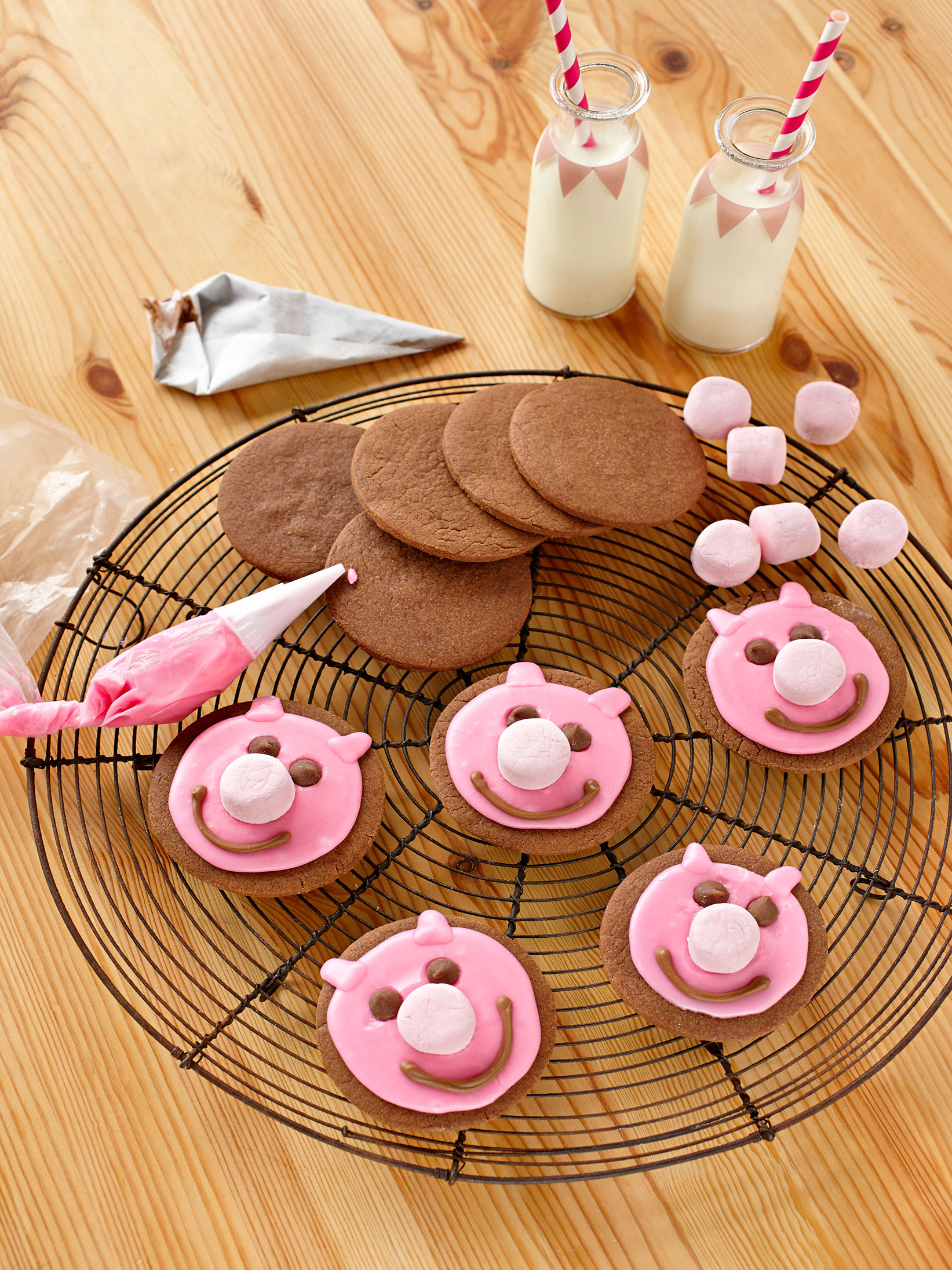 Muddy Little Pig Biscuits
