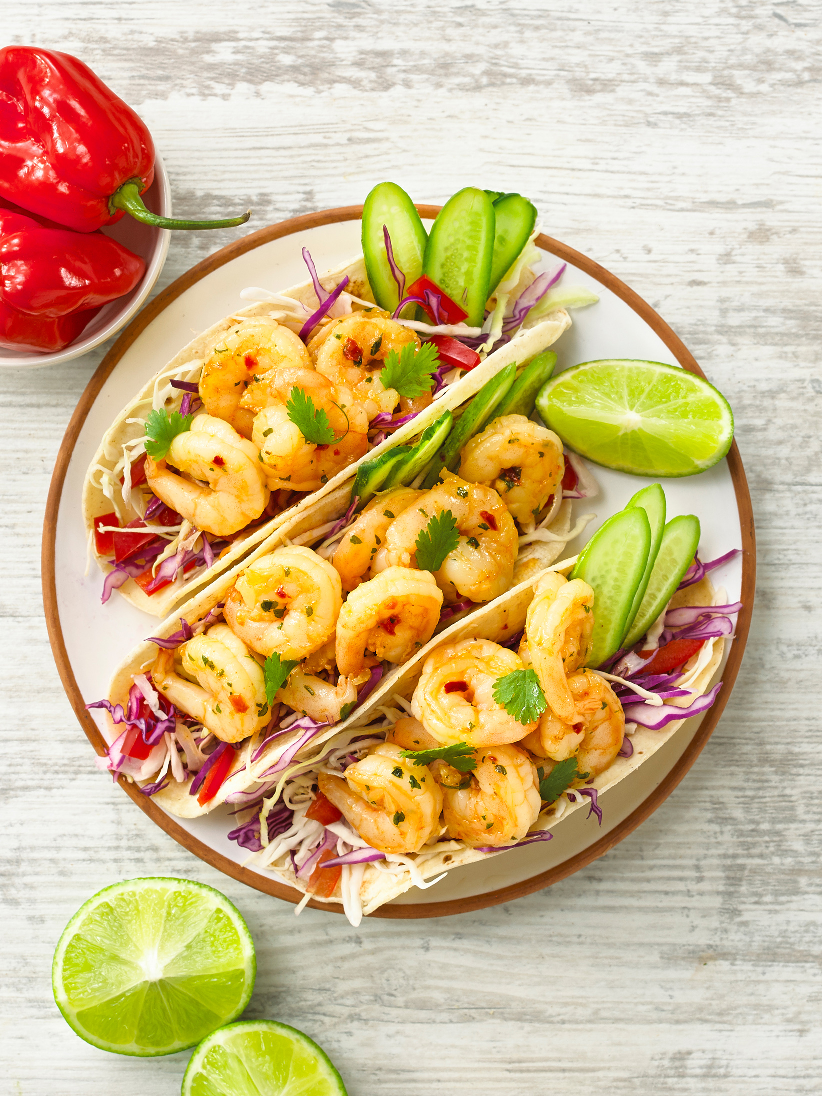 Prawn Soft Tortillas