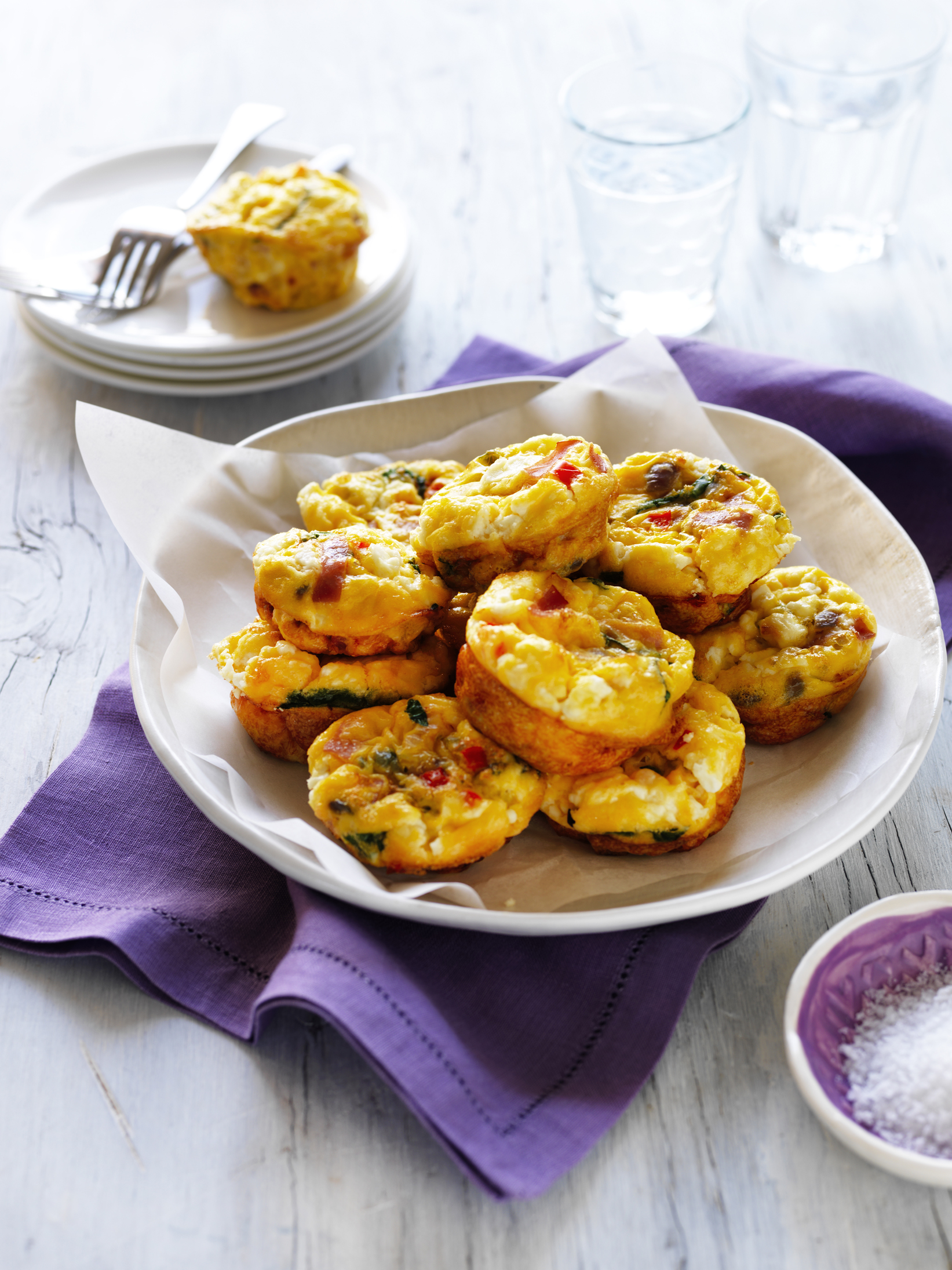 Mini Breakfast Muffins recipe