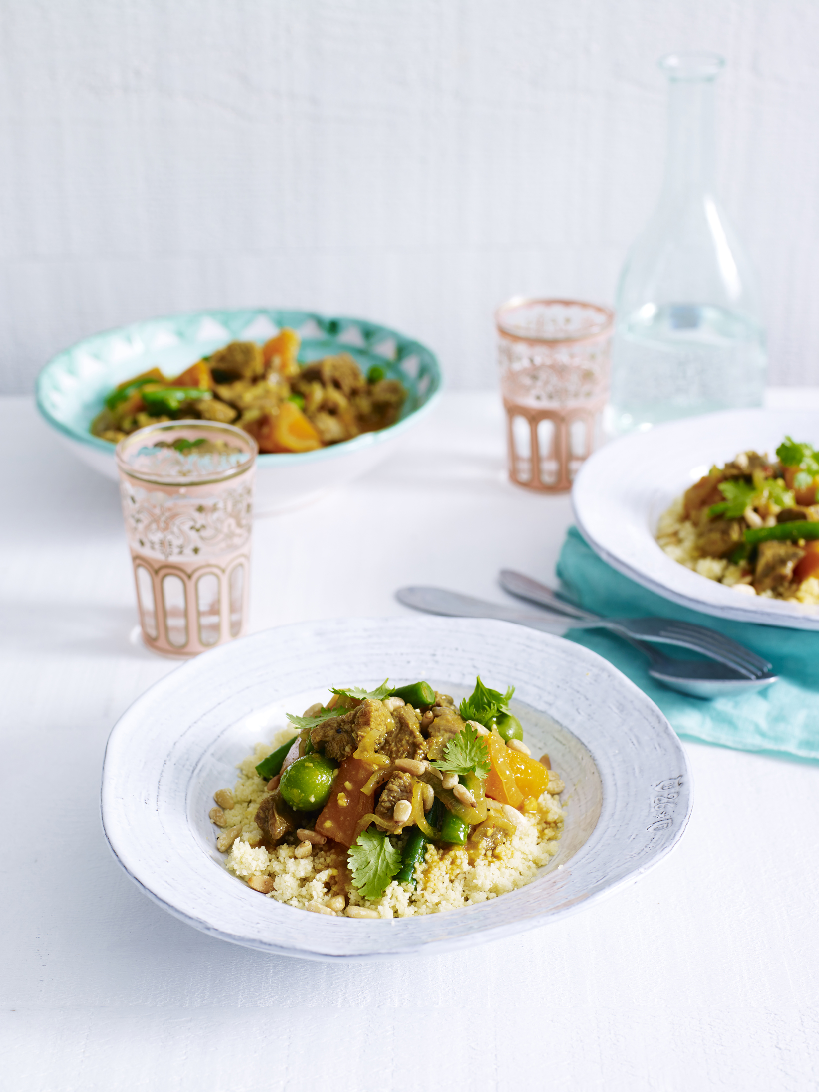 Quick Turkey Tagine with Cous Cous