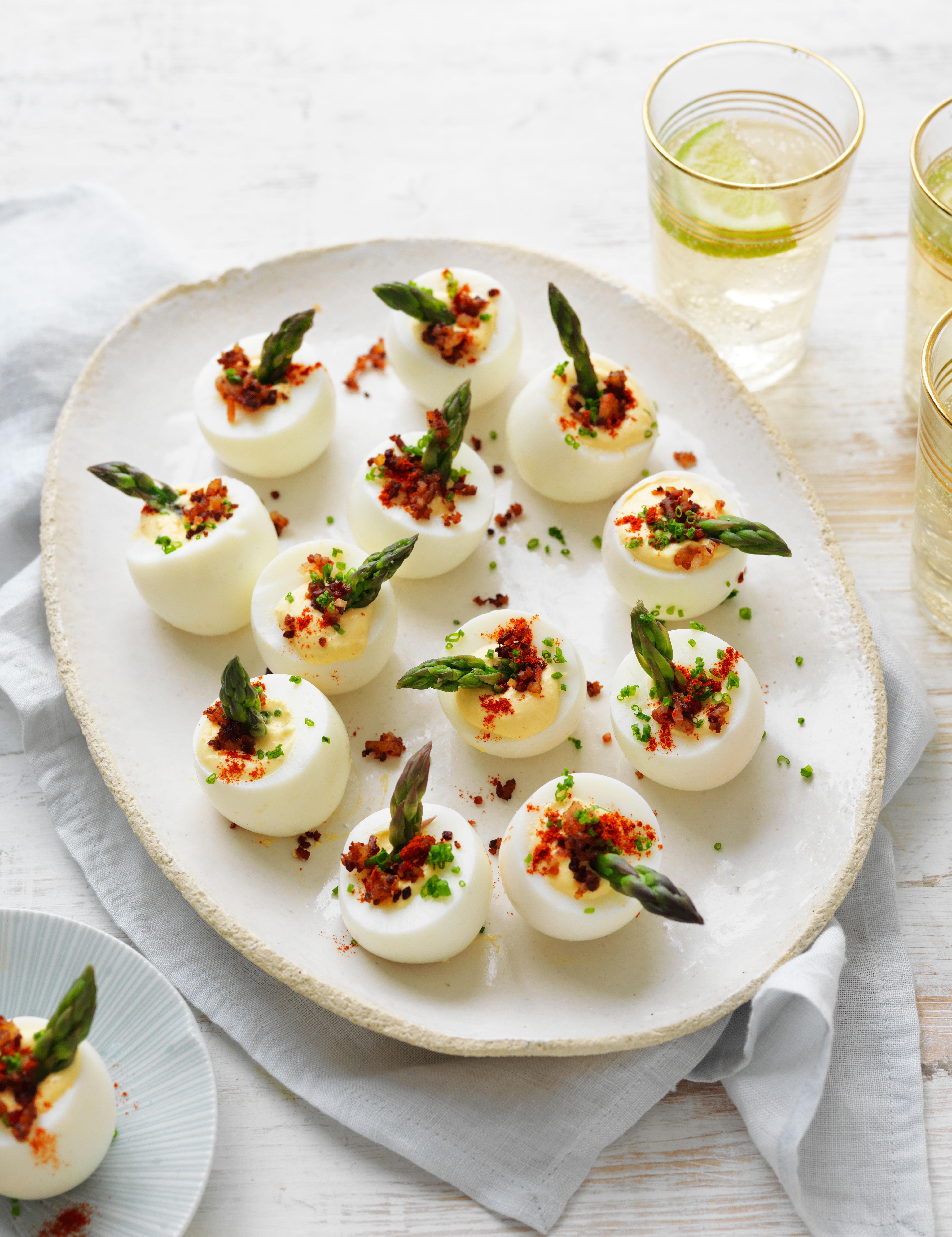 Modern devilled egg recipe