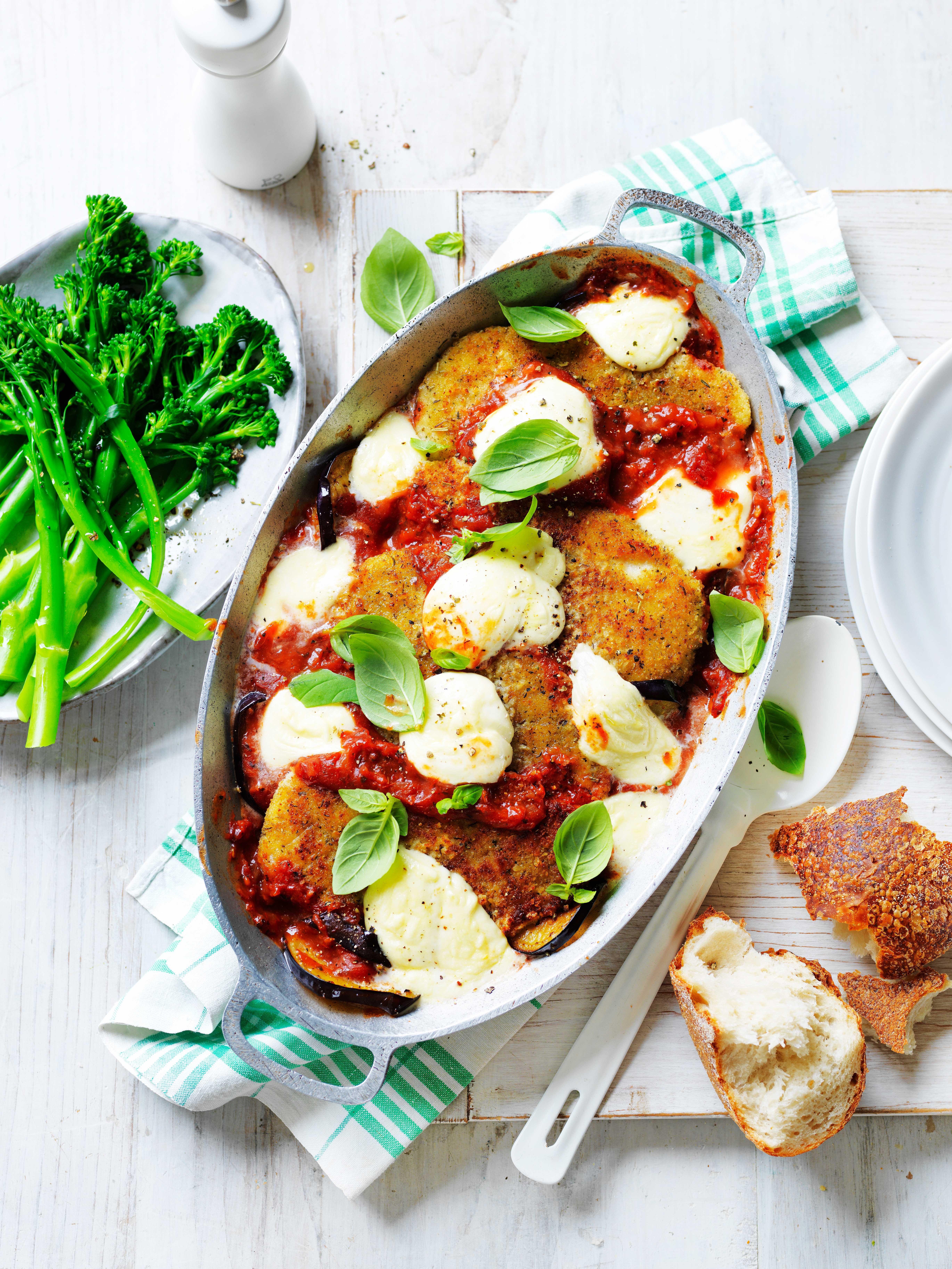 Easy Chicken Eggplant Parmigiana