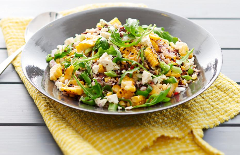 ZOOSH Lemon and Herb Rice Salad