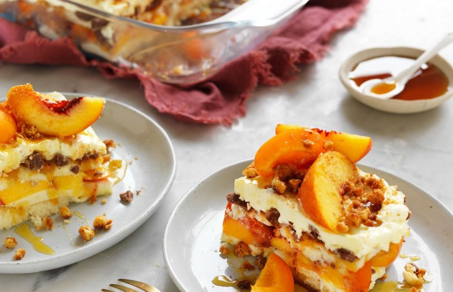 No-bake apricot cheesecake recipe