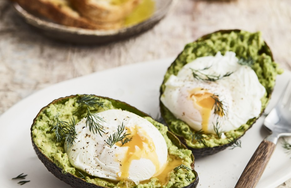 Eggs and Avocado breakfast