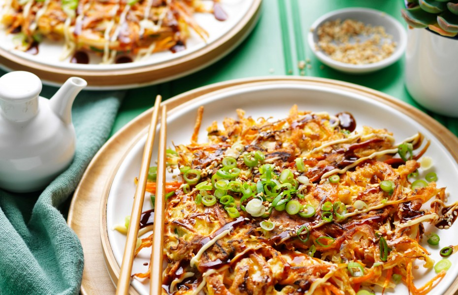 Okonomiyaki BBQ chicken recipe