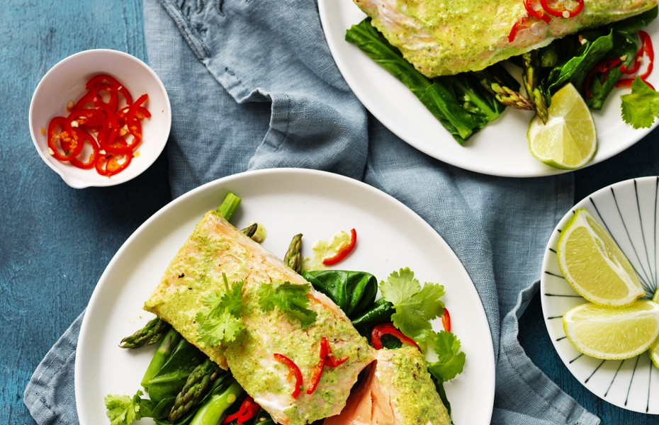 Easy Asian Roasted Salmon Recipe