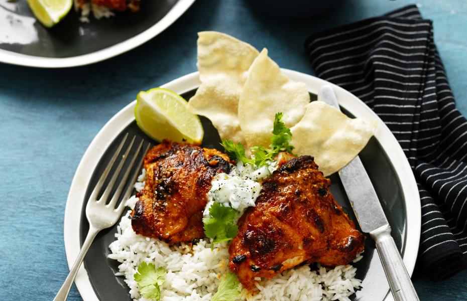 Tandoori Roast Chicken Recipe