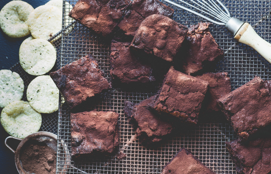 Chocolate and Hip Chip Brownie