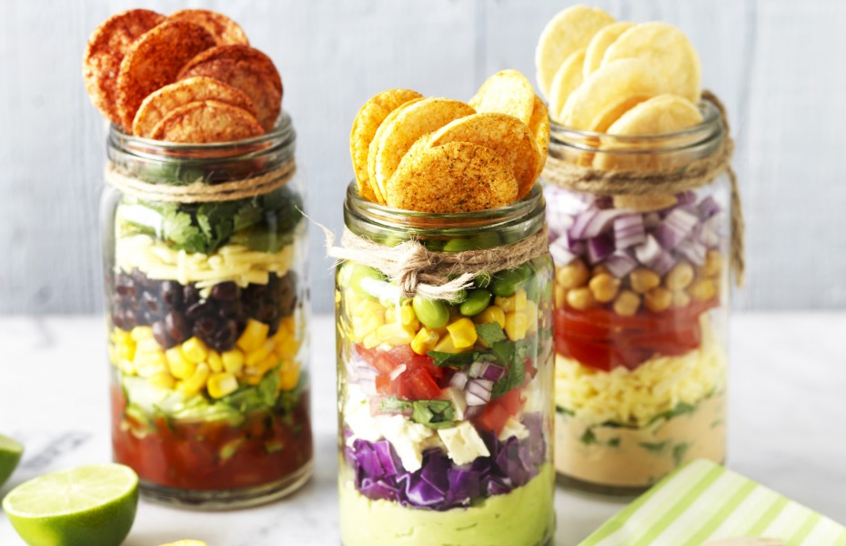 Healthy Nachos recipe in a Jar
