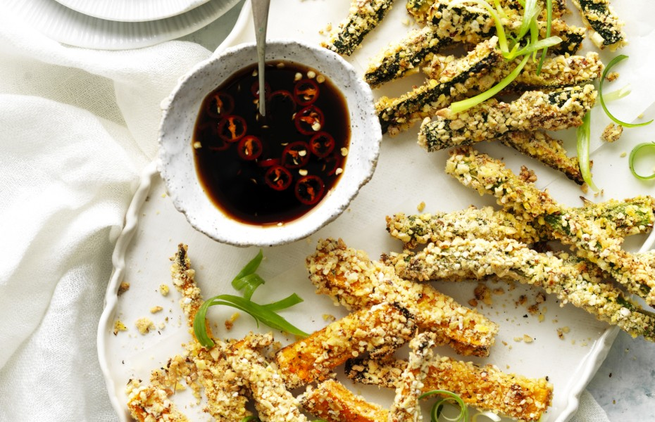 Crispy Baked Vegetable Soldiers