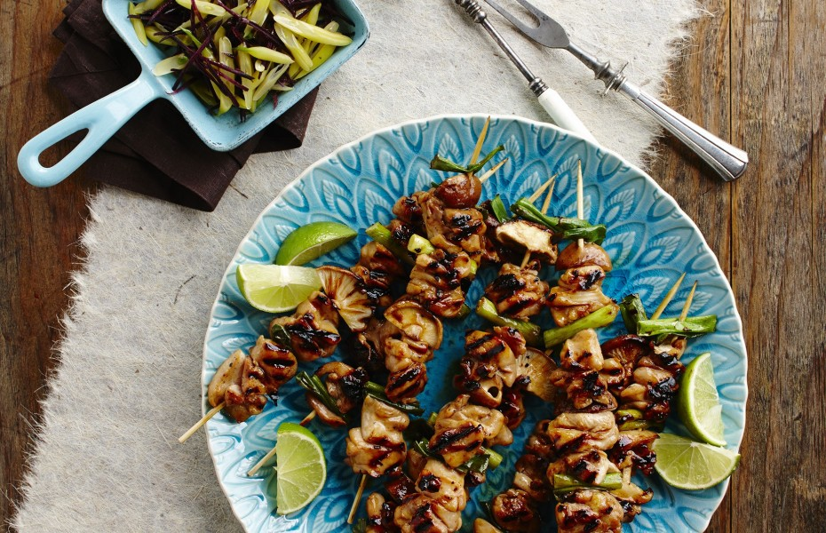 Chicken Yakitori Skewers Recipe