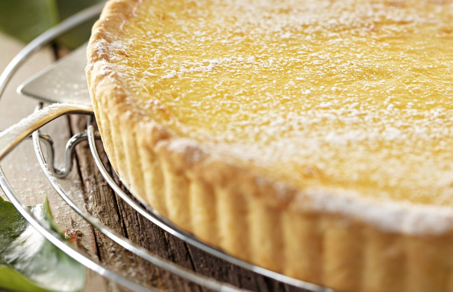 Creamy lemon tart recipe