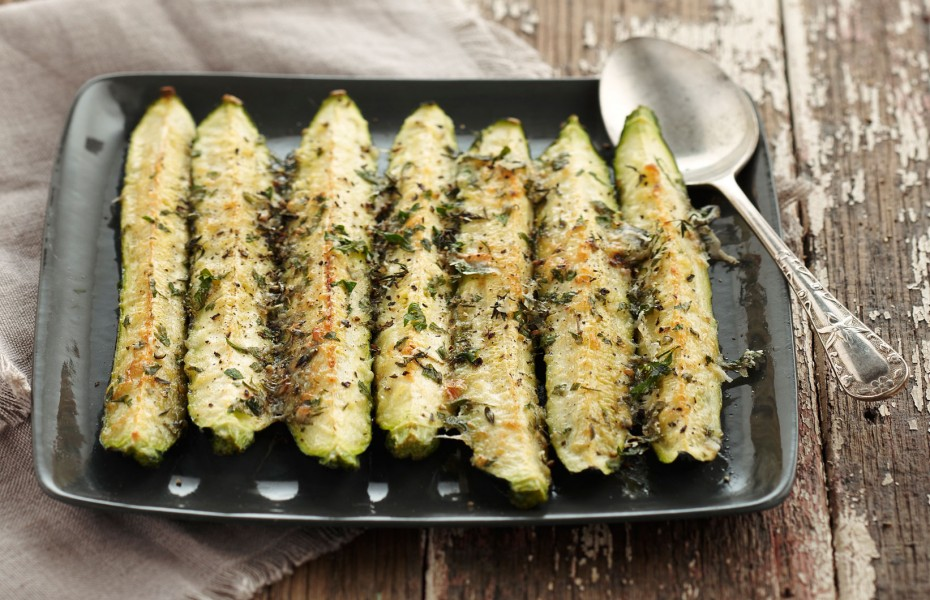 Baked Parmesan Zucchini Recipe