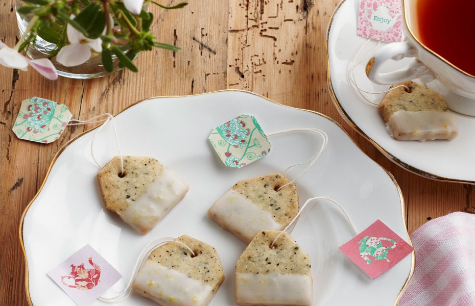 Lemon and Earl Grey Shortbread Teabags