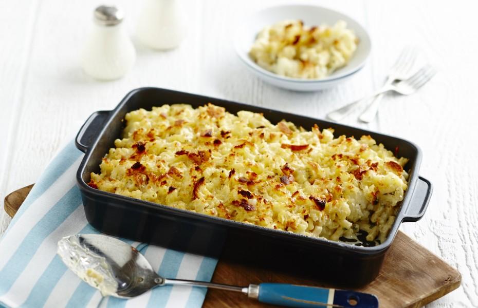 One Pot Cauliflower Mac and Cheese