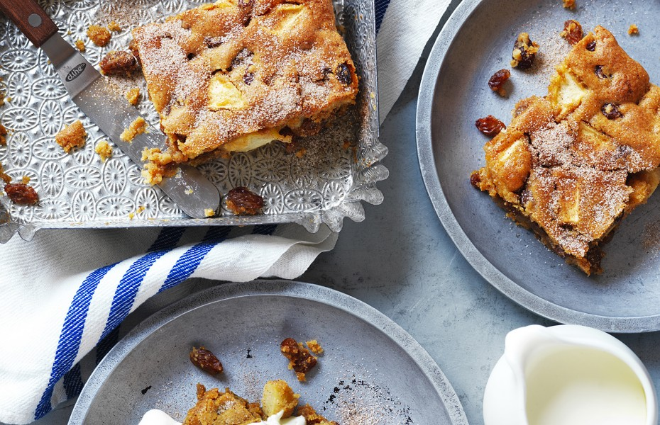 The Best Apple Slice recipe from Devondale Farmers Cookbook