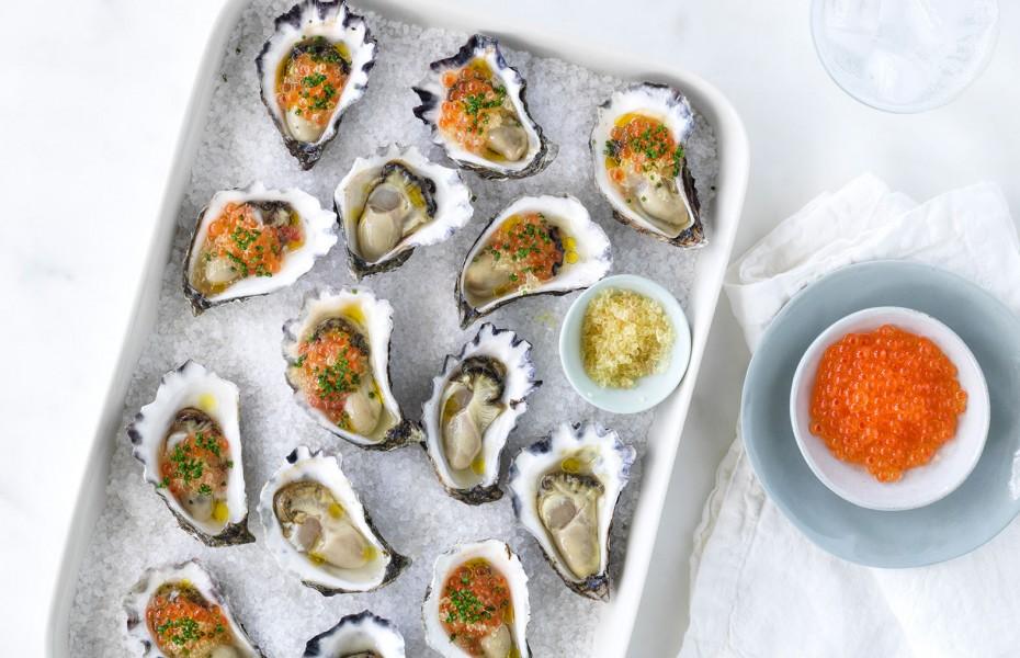 Australian oysters recipe