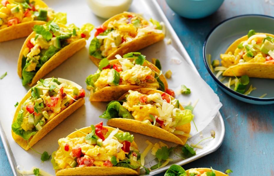 Egg tacos