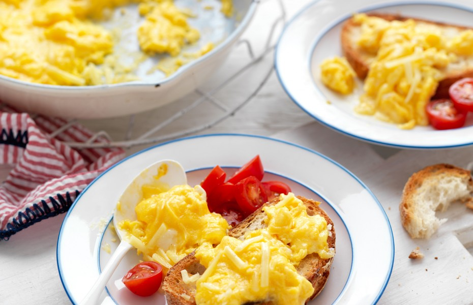 Brain - Food Cheesy Scrambled Eggs