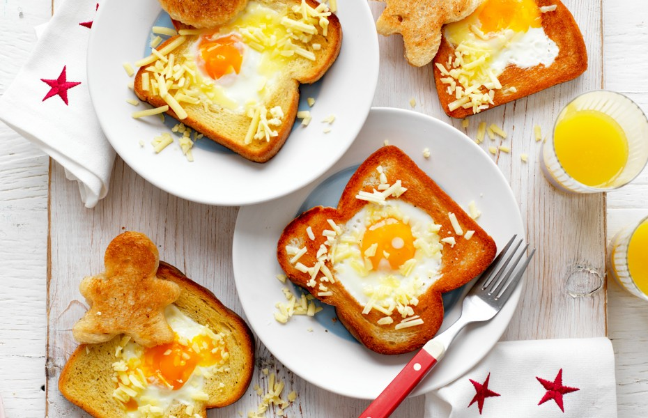 Egg in the hole recipe for kids