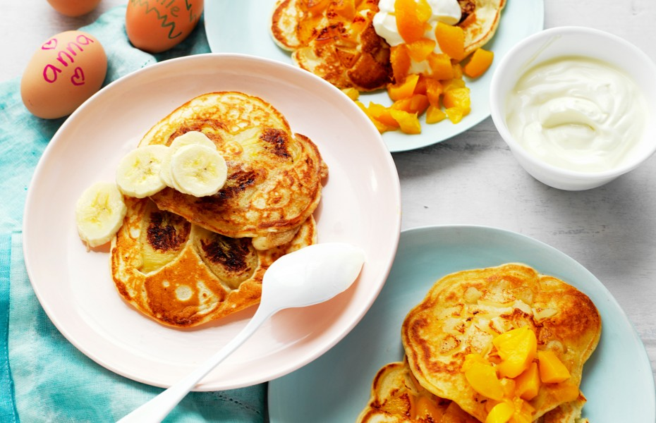 Easy Fruit Pancakes