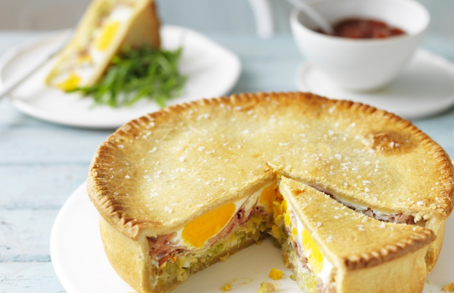 How to make and Egg Bacon Pie