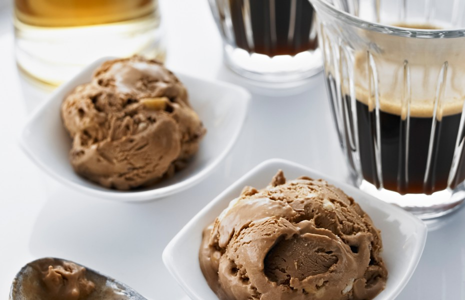 Roasted Hazelnut Ice Cream Affogato
