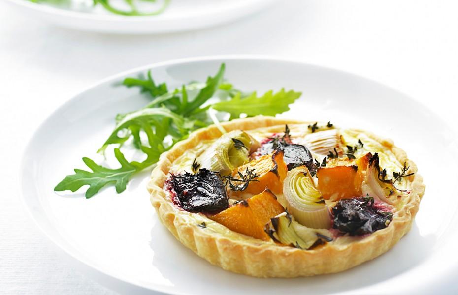 Roasted Vegetable Tarts