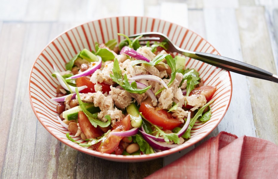 ZOOSH Light Lunch Tuna and Bean Salad
