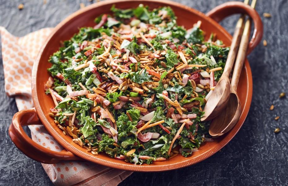 Crunchy Kale Slaw