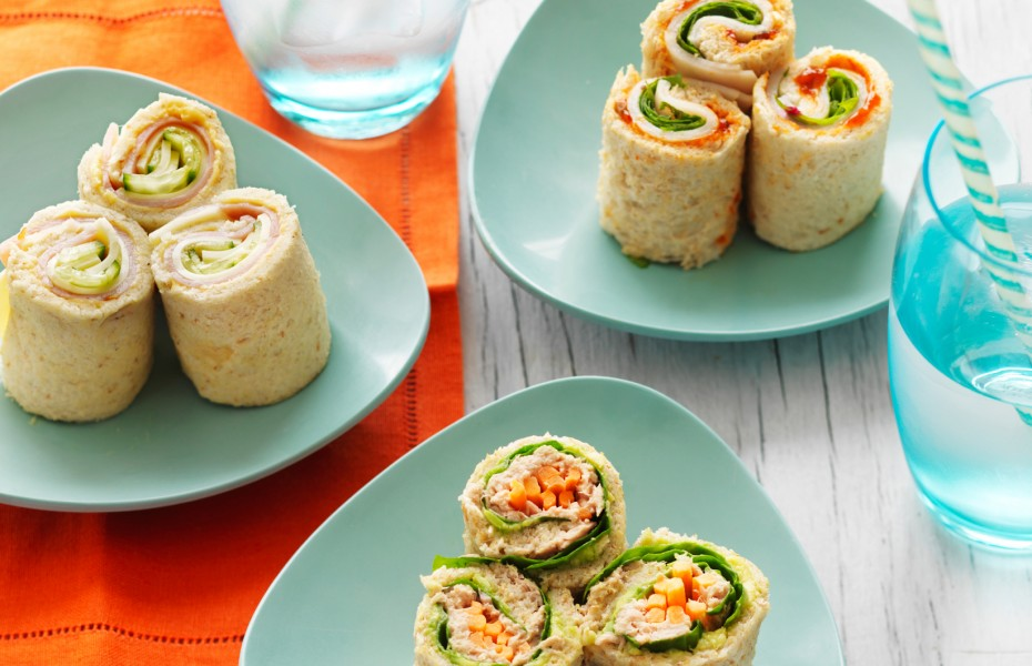 Easy Bread Sushi Rolls