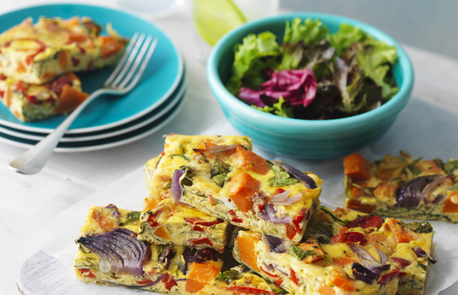 Baked Vegetable Slice