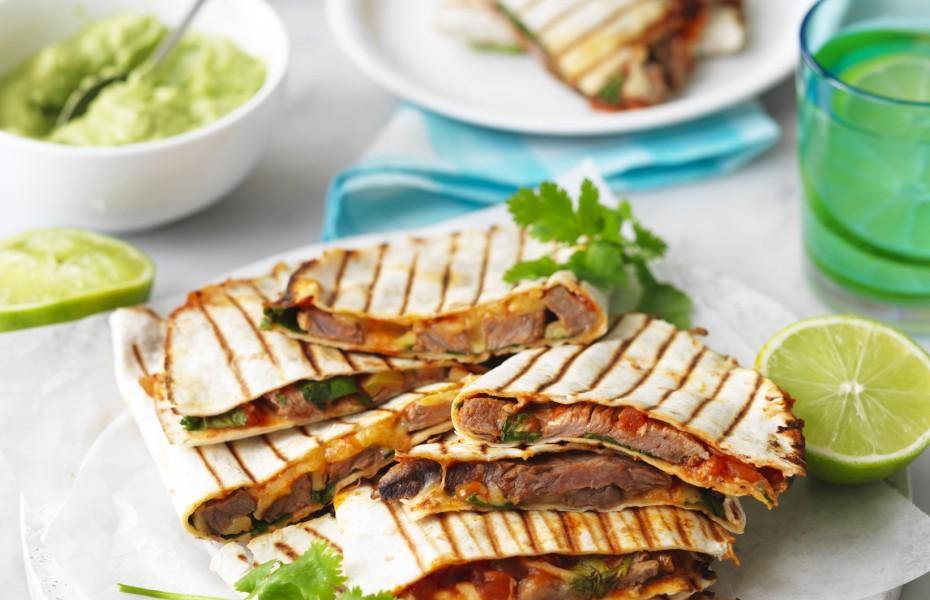 The best Beef Steak Quesadillas