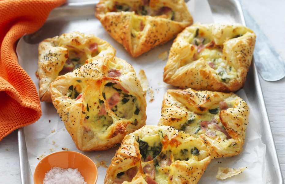 Foodbank australia food fight recipes myfoodbook ham cheese and spinach puff pastries forumfinder Choice Image