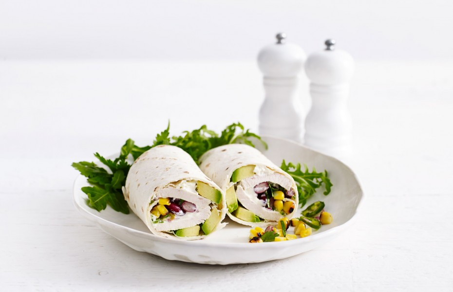 Mexican Chicken Breast Wrap