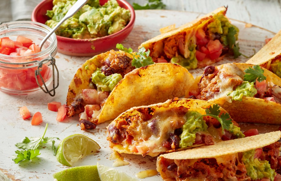 Mexican Chicken Tacos Recipe using leftover chicken