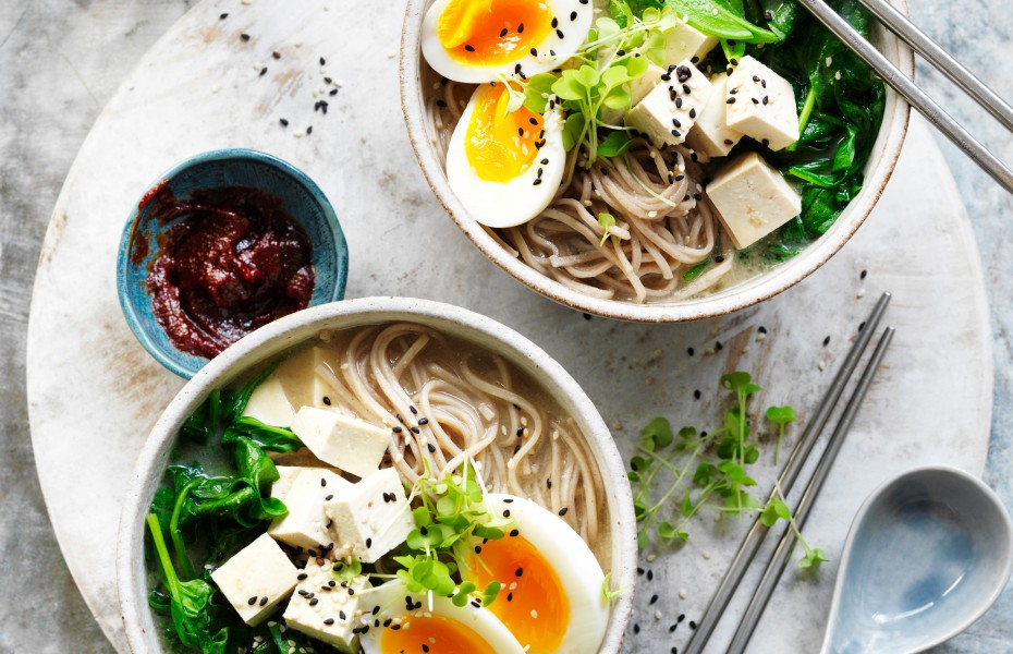 Tofu miso soup