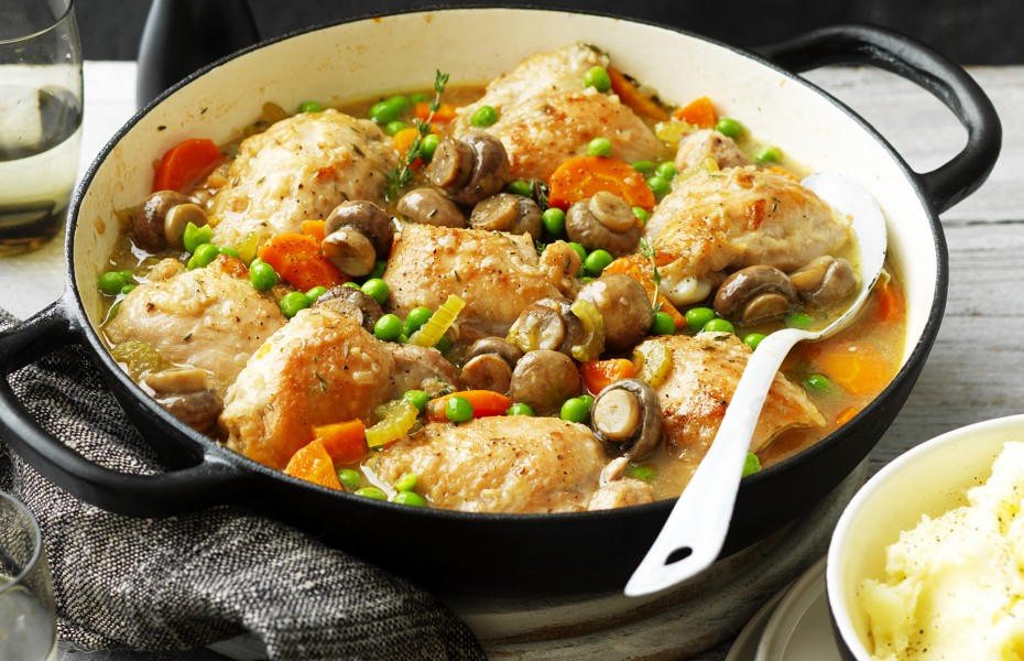 One-Pot Chicken and Mushroom Casserole Recipe