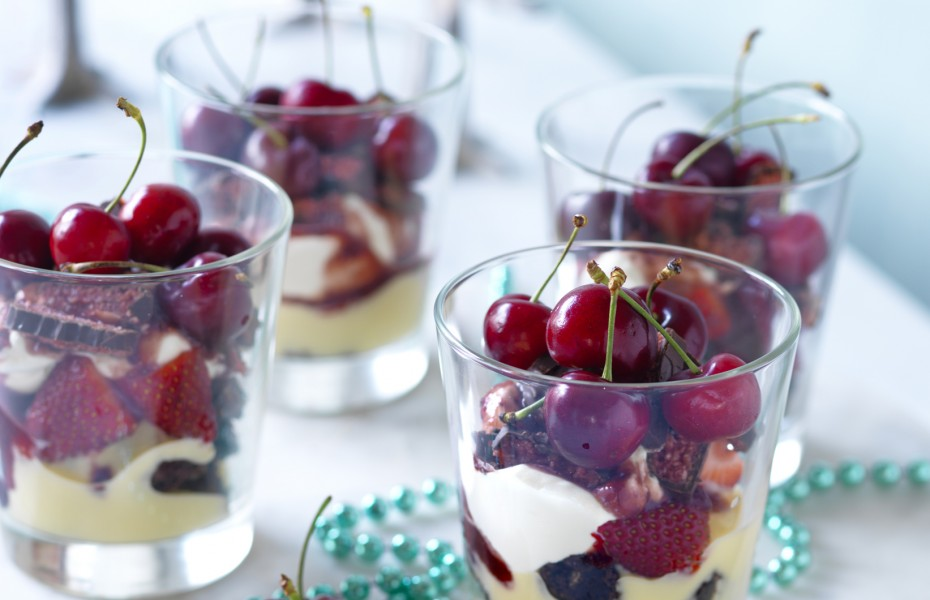 Cherry Choc Trifle