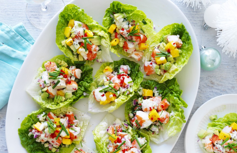Easy appetiser recipe collection myfoodbook the best appetisers avocado mango and chilli prawn cups forumfinder Gallery